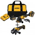DEWALT FLEXVOLT 60-Volt MAX Lithium-Ion Cordless Brushless 4-1/2 in. Angle Grinder with Bonus Angle Grinder