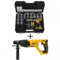 DEWALT 20-Volt MAX XR Brushless Lithium-Ion Cordless Cable Stripper Kit with Bonus Brushless D-Handle Rotary Hammer