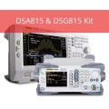 Rigol DSA815-TG /DSG815 Kit Spectrum Analyzer - 9kHz to 1.5GHz with Preamplifier and Tracking Generator and DSG815 Signal Generator