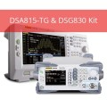 Rigol DS815-TG & DSG830 Kit Spectrum Analyzer, 9kHz to 1.5GHz with Preamplifier and Tracking Generator and DSG830 3 GHz Signal Generator